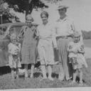 Nancy, Grandma Kunschke, Aunt Ruby Holder, Grandpa Holder, Jane