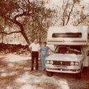 Em, Don Kuhl, their first (among several) Camper 1984