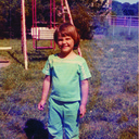 1974: Kathy, 4 years old
