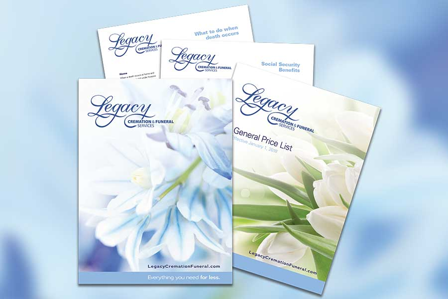 Free Funeral Planning Kit from Legacy