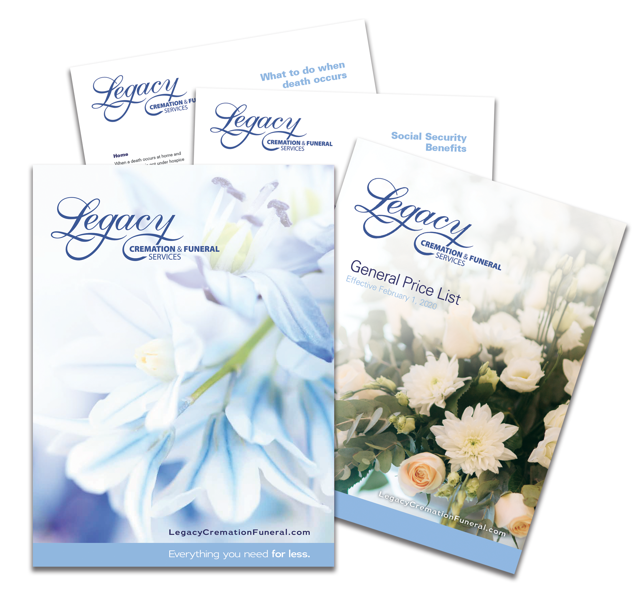 Legacy Cremation and Funeral Services Free Planning Kit
