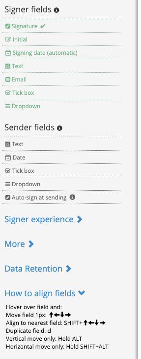 helpers for pdf edit