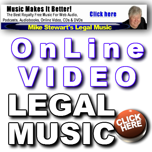 Get Online Video Legal Music From Mike Stewart.