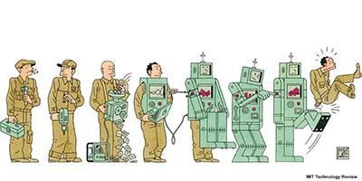 Emplois et robots : les fausses idées