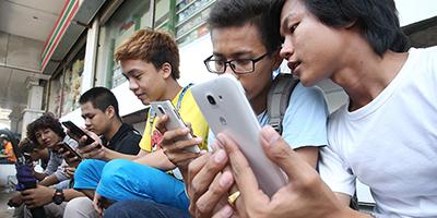 L'incroyable « progression » des smartphones