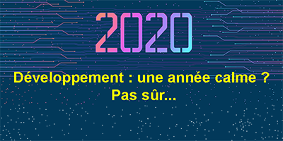 Le développement d'applications en 2020