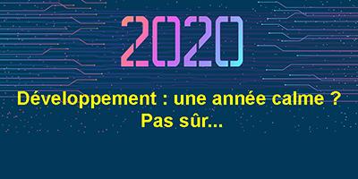 Le développement d'applications en 2020