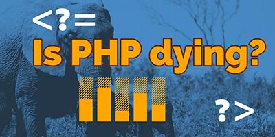 L'avenir de PHP fortement compromis ? C'est faux.