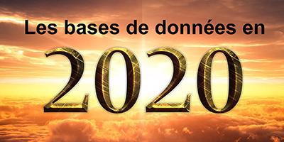 Les bases de données en 2020