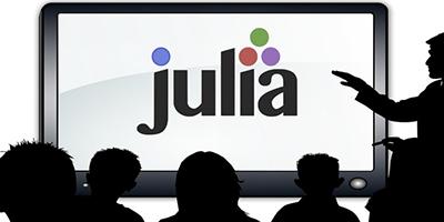 Julia, pour l'analyse numérique, successeur de Python