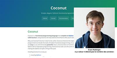 Coconut, le fonctionnel avec Python