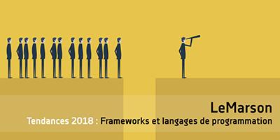 Langages et frameworks, ce qui nous attend en 2018
