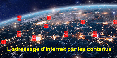 ICN et l'adressage Internet par les contenus