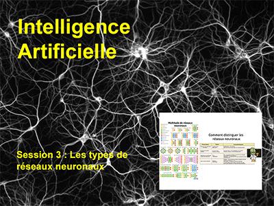 Session 3 : Les types de réseaux neuronaux