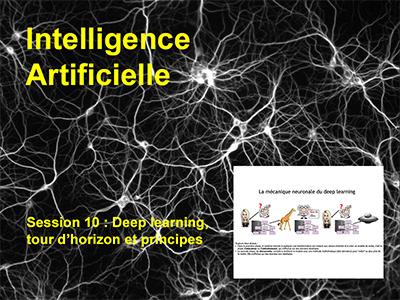Session 10 : Deep learning, généralités