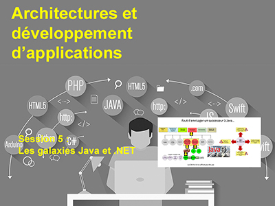 Développement, Session 5 : Les galaxies Java et .NET