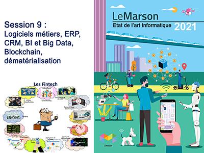 Etat de l'art - séminaire 1 - session 9 - Les logiciels métiers, ERP, CRM, BI et Big Data, Blockchain, dématérialisation