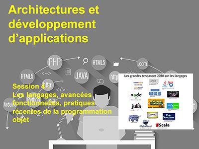 Développement, Session 4 : Les langages, avancées fonctionnelles, pratiques récentes de la programmation objet