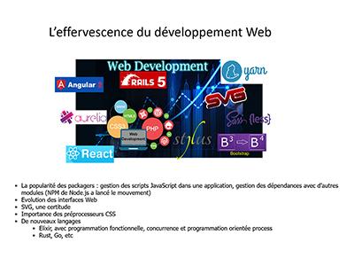 Développement, Session 10 : Développement Web, JavaScript et les API de support