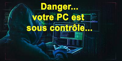 Contrôle de votre PC à distance…sans autorisation