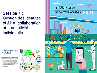 Etat de l'art - séminaire 1 - session 7 - La gestion des identités et AHA, collaboration et productivité individuelle