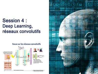 Intelligence Artificielle - Séminaire 2 - Session 4 - Deep Learning, réseaux convolutifs