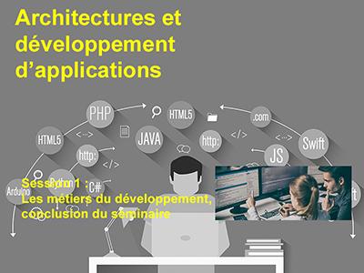 Développement, Session 10 : Les métiers du développement, conclusion du séminaire