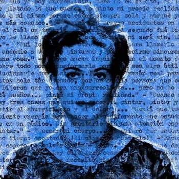 Talking to Frida Kahlo – Blue