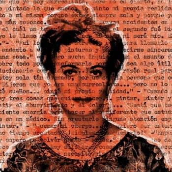 Talking to Frida Kahlo – Orange