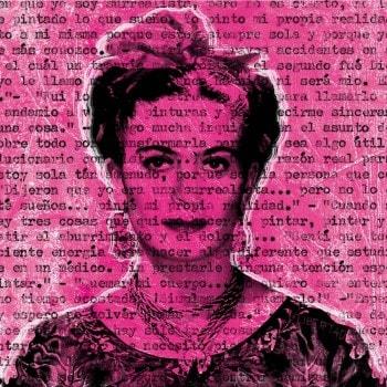 Talking to Frida Kahlo – Pink