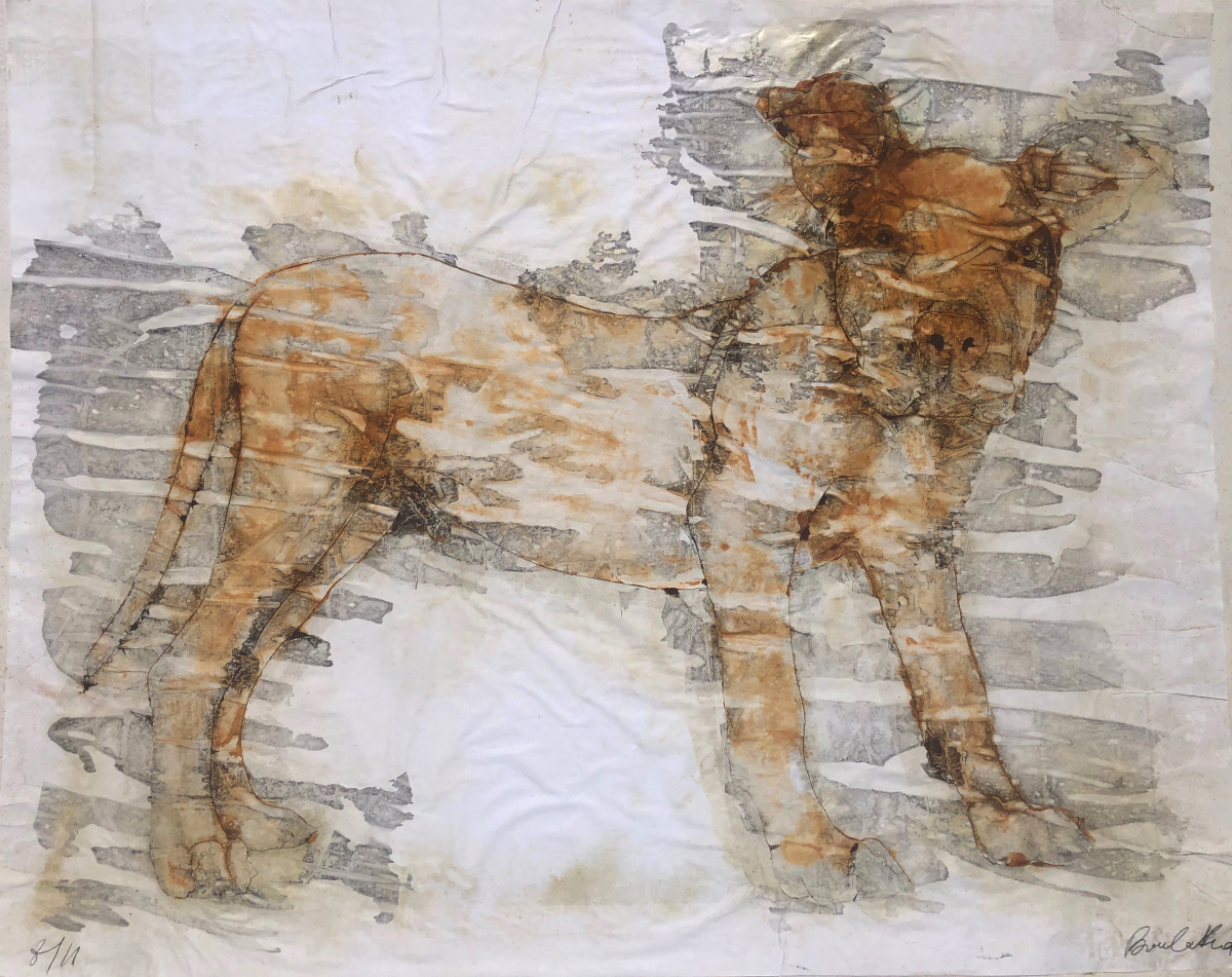 Toto is back by Philippe Boulakia 113.5X139.5 cm