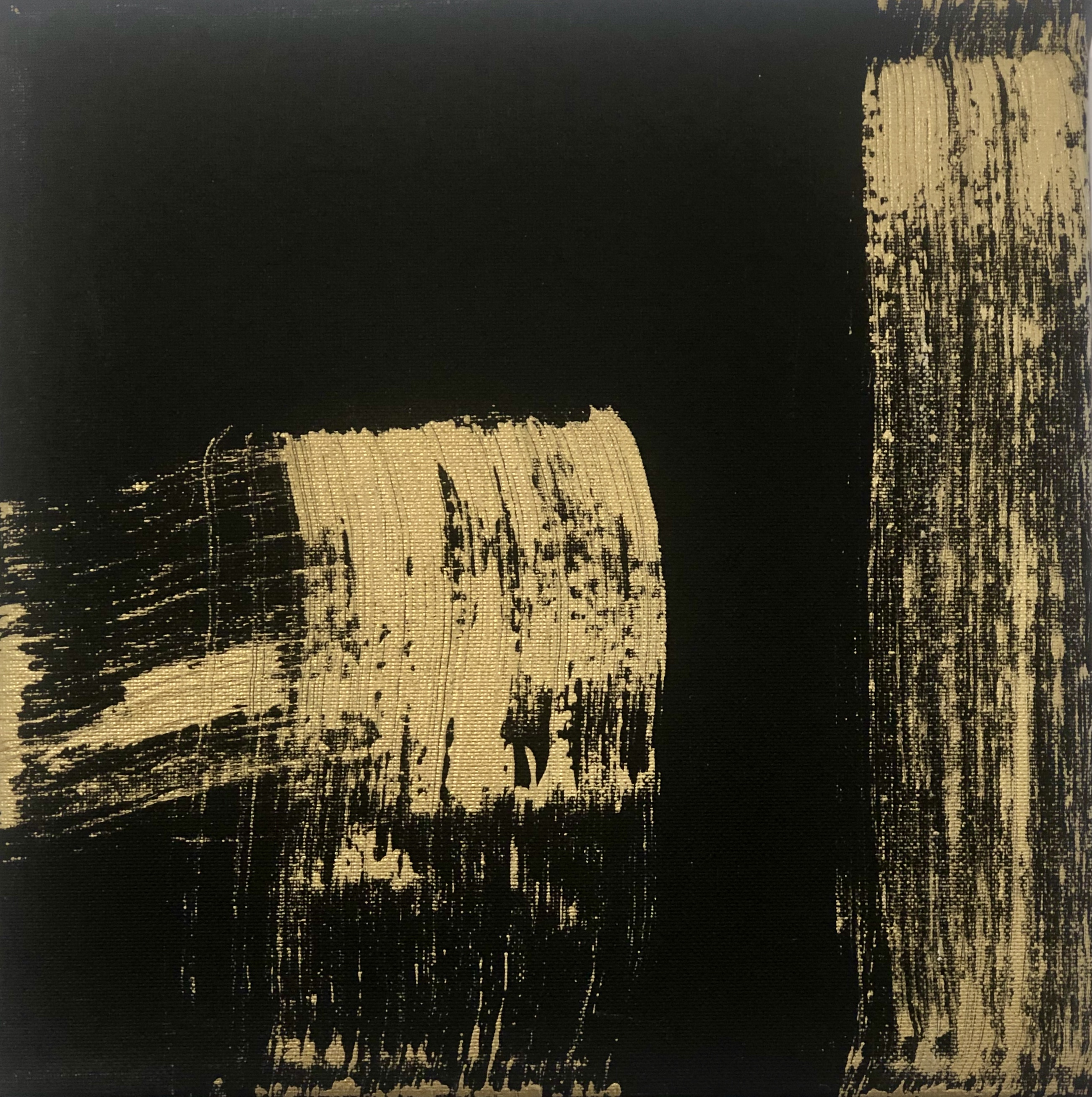 Golden abstract 1 By DesiDesa