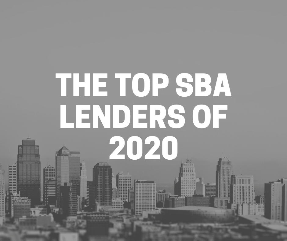 top sba lenders 2020