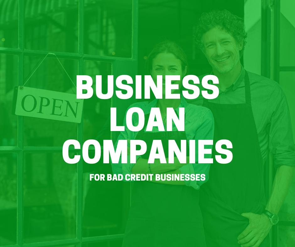 business loan companies