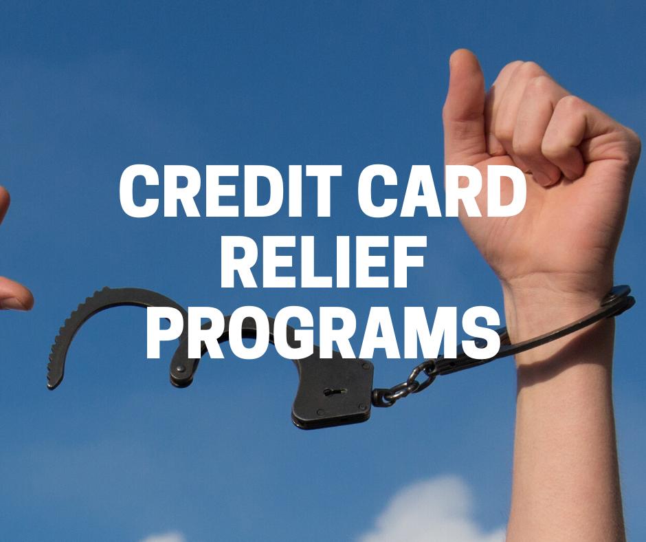 credit card relief program