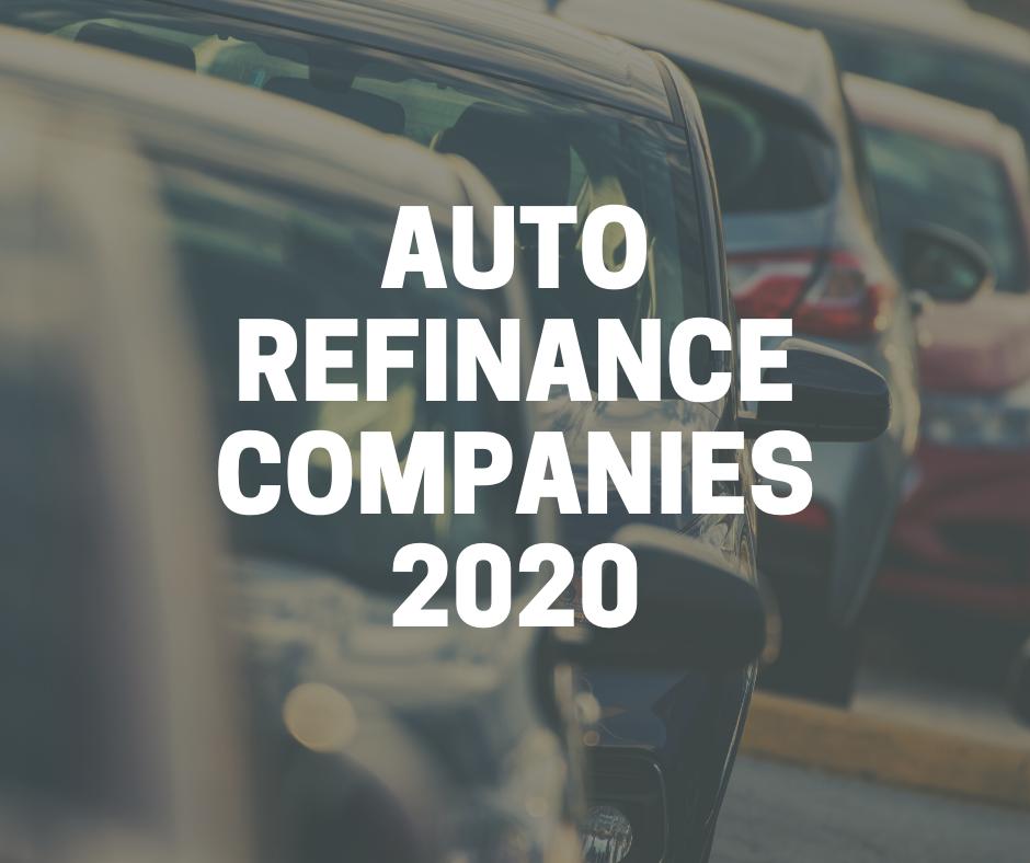 auto refinance companies