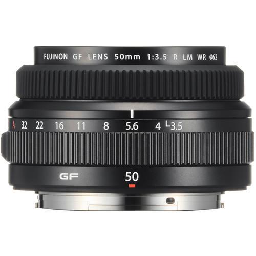 Fuji gf 50mm f 3.5 r lm wr