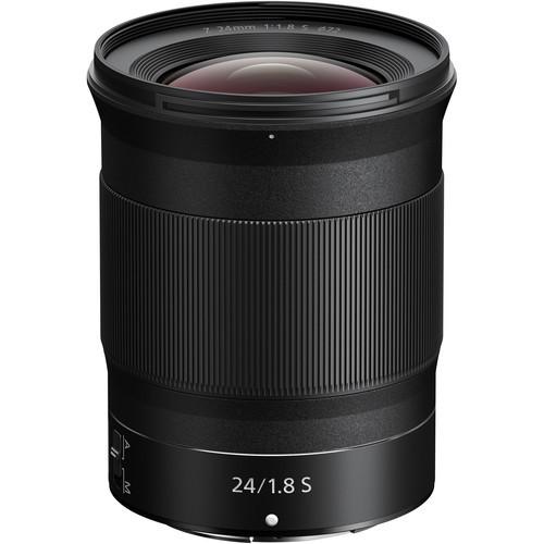 Nikon nikkor z 24mm f 1.8 s lens