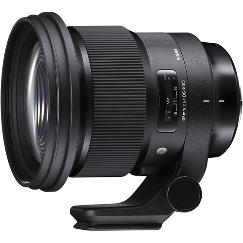 Sigma 105mm f 1.4 dg hsm art for canon