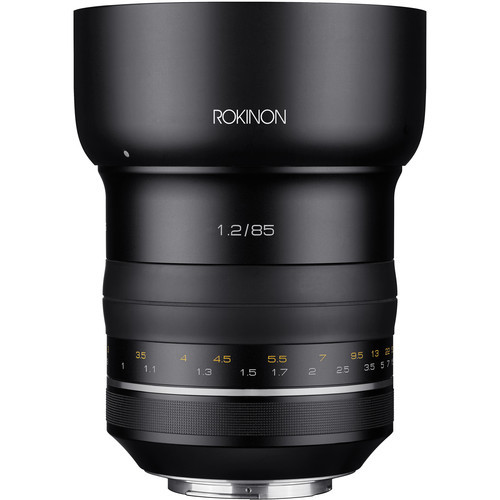 Rokinon sp 85mm f 1.2 for canon ef