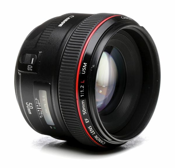 Canon 50mm f 1.2l
