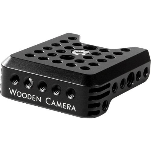 Wooden camera top plate for c100  c300  c500
