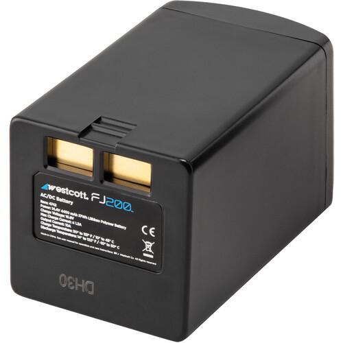 Westcott fj200 battery