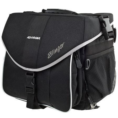 Adorama pro slinger bag  single strap backpack   shoulder bag  black.