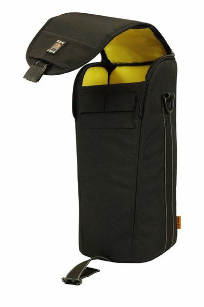 Ape case professional medium lens case black yellow acprolc16 603
