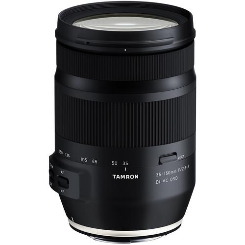 Tamron 35 150mm f 2.8 4 di vc osd lens for nikon f