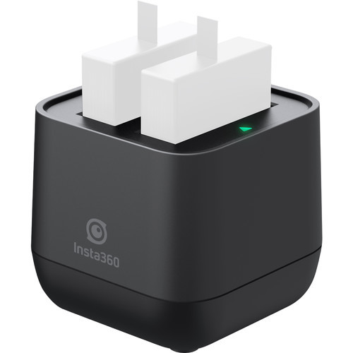 Insta360 battery charging station for one x camera