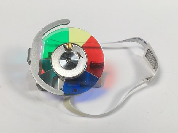 Sumitomo 70.8fg23gr01 assy color wheel module 1510x for hd66 projector
