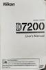 Nikon D7200 Manual