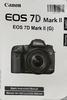 Canon 7D Mark II Manual